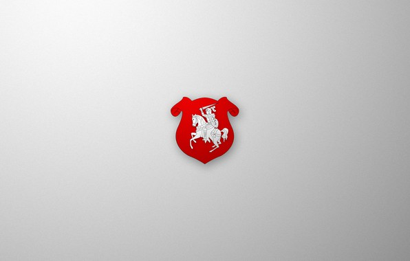 Picture Wallpaper, Chase, Pahonia, Belarus, Emblem, Belarus, BNR, Chase, Herbs, BNR, Rowed, Herb •