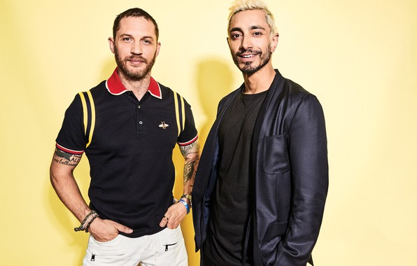 Picture men, Tom Hardy, Riz Ahmed