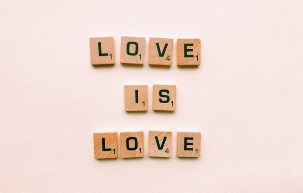 Picture love, letters, background, love, words