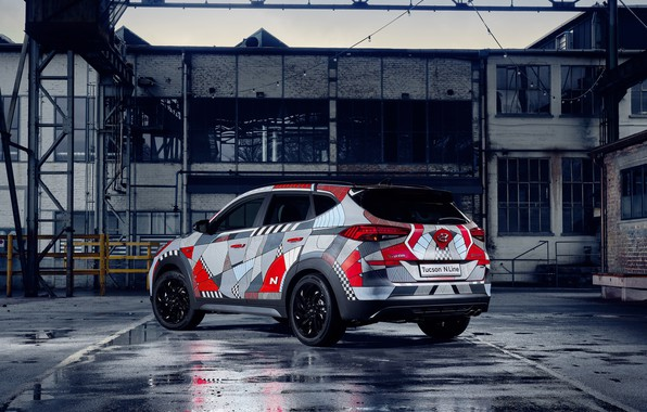 Picture back, Hyundai, Tucson, 2019, Drive A Statement, N Line
