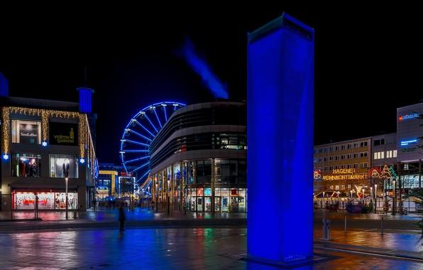 Picture lights, Germany, backlight, illumination, Hagen