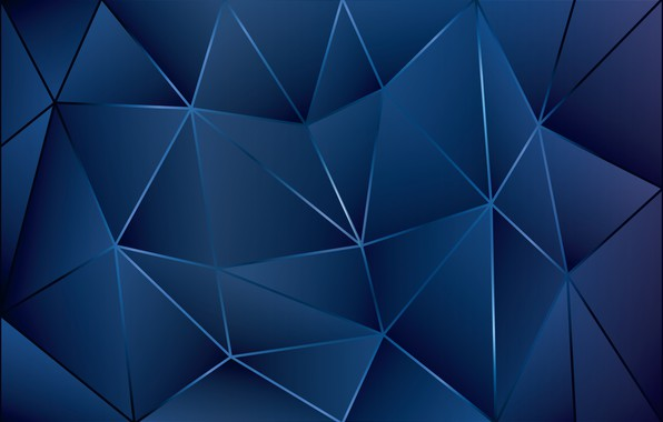 Picture line, background, triangles, blue, line blue