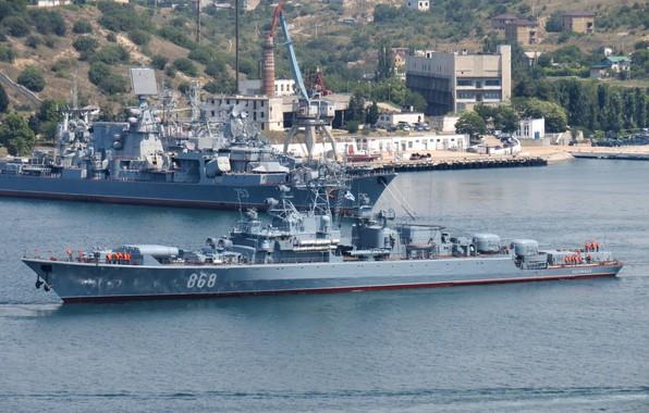 Picture ship, the black sea fleet, guard, project 1135m, inquisitive