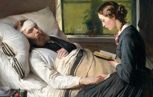 Picture 1865, Danish painter, Statens Museum for Kunst Copenhagen, National Gallery of Denmark, Danish artist, Elizabeth …