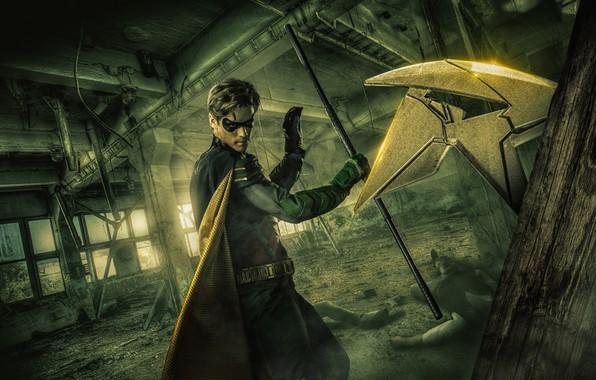 Picture the series, Robin, serial, Dick Grayson, Robin, DC comics, Dick Grayson, The titans, Titans