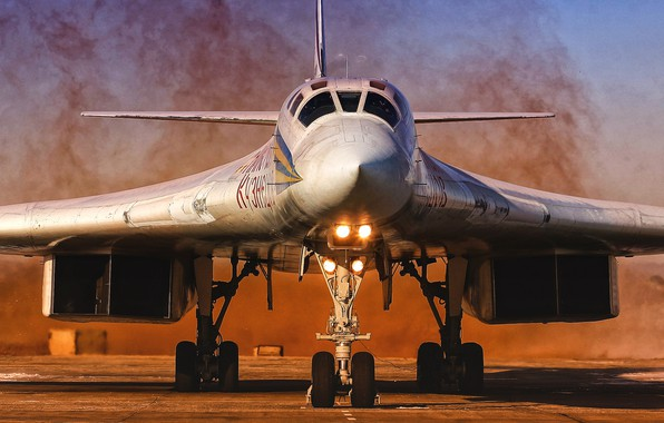 Picture The plane, USSR, Russia, Aviation, BBC, Bomber, Tupolev, Tu 160, The plane, The Tu-160, Tu-160, ...