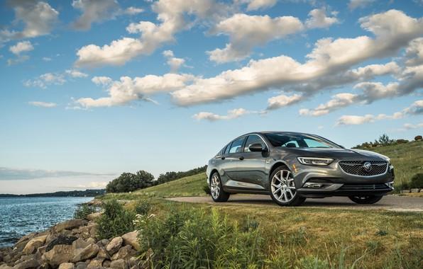 Picture photo, Grey, Car, Buick, Future, Metallic, Regal, 2019