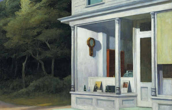 Picture 1948, Edward Hopper, Seven A.M.
