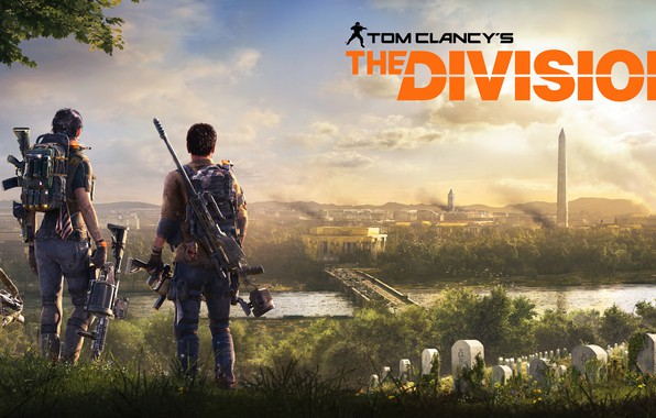 Picture the city, weapons, Washington, ubisoft, agents, Tom Clancy's The Division 2, The Division 2