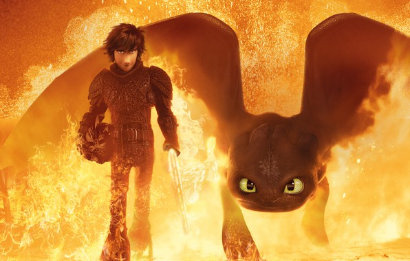 Picture World, Action, Fantasy, Nature, Dragon, Fire, Wood, White, Train, The, Family, Gerard Butler, year, Boy, …