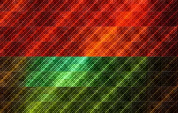 Picture pattern, gradient, texture, squares, colorful