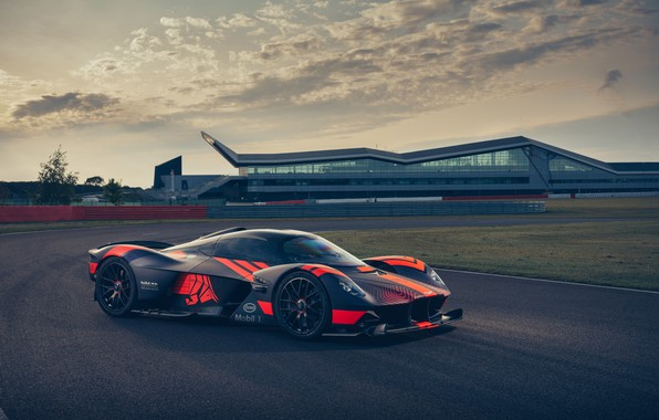 Picture Aston Martin, track, hypercar, Valkyrie, Red Bull Racing