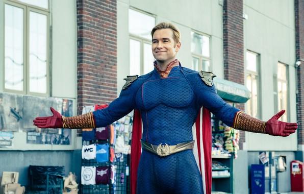 Picture superhero, serial, Amazon, The Boys, Homelander, Anthony Starr