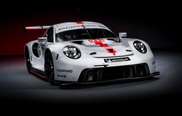 Picture background, coupe, 911, Porsche, dark, RSR, 2019