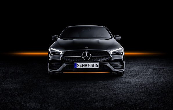 Picture coupe, Mercedes - Benz, Mercedes-Benz CLA, AMG Line, 2019, Mercedes - Benz, Edition Orange Art