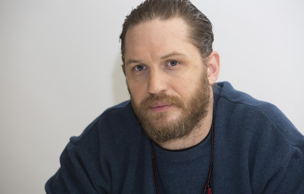 Picture look, pose, beard, actor, writer, Tom Hardy, Tom Hardy, film producer