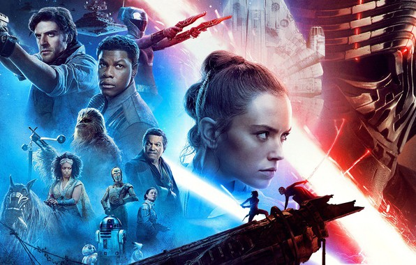 Picture Star Wars, Star wars, poster, The Rise of Skywalker, Episode IX