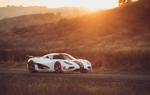 Picture sunset, Koenigsegg, supercar, 2018, Agera, hypercar, RS1
