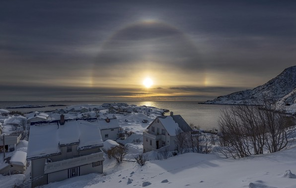 Picture Norway, Pure, Nordland, Amazing Sunbow