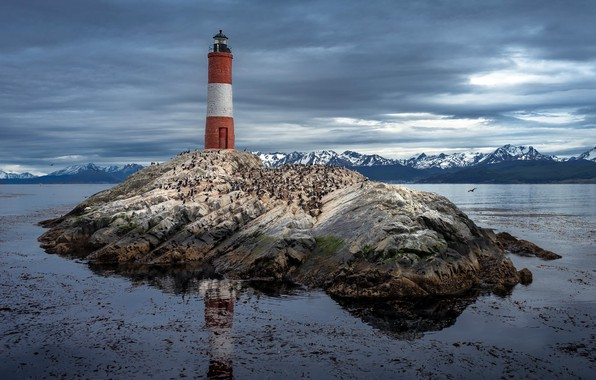 Picture Argentina, Patagonia, Les Eclaireurs Lighthouse