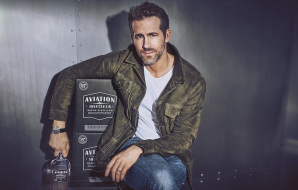 Picture look, pose, jacket, male, Ryan Reynolds
