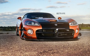 Picture Dodge, Viper, Widebody, Strasse Wheels