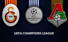 Picture wallpaper, sport, logo, football, UEFA Champions League, Galatasaray, Lokomotiv Moscow, Galatasaray vs Lokomotiv Moscow