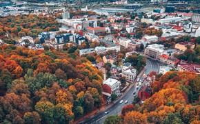 Picture autumn, Lithuania, Kaunas