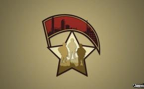 Picture sign, star, logo, soldiers, symbol, military, banner, group, Survarium, military, the Renaissance army, survarium