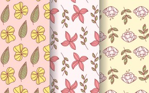 Picture flowers, background, texture, Flower, Pattern
