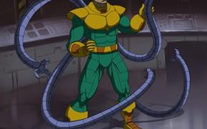 Picture laboratory, the tentacles, Otto Octavius, Spider-Man The Animated Series, доктор осьминог