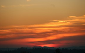 Picture Nature, Sky, Sunset