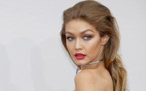 Picture look, pose, model, makeup, hairstyle, hair, Gigi Hadid, Gigi Hadid