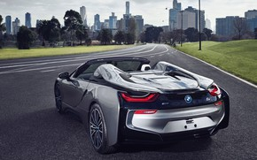 Picture Roadster, rear view, 2018, BMW i8