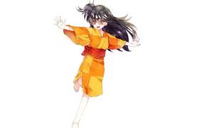 Picture art, girl, Rin, Inuyasha, Inuyasha