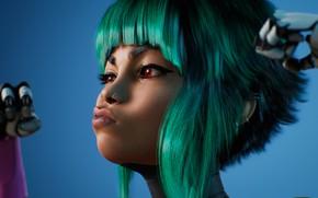 Picture Girls, Unreal Engine, Cyberpunk, Art 4K, J Hill