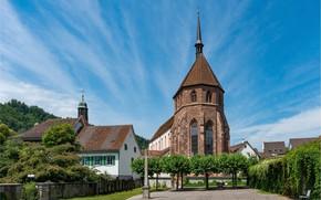 Picture Switzerland, Church, Bad Zurzach, Aargau