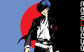 Picture look, guy, Person 5, Persona 5