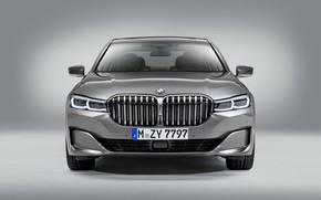 Picture BMW, front view, 750Li, 7-Series, 2019, XDrive