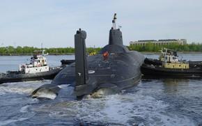 Picture cruiser, Dmitry Donskoy, underwater