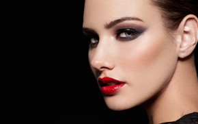Picture sexy, makeup, beautiful girl, sexy look, зовущая за собой