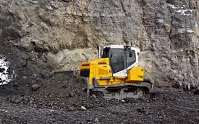 Picture bulldozer, liebherr, excavator, 716, dozer