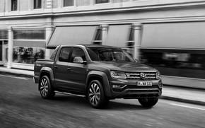 Picture street, Volkswagen, pickup, Amarok, V6