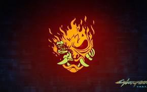 Picture samurai, logo, art, samurai, Cyberpunk 2077, CD PROJEKT RED, CD Project Red