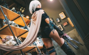 Picture girl, style, costume, legs