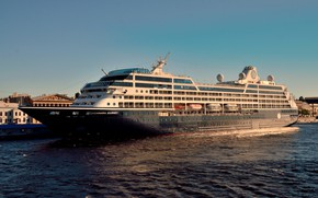 Picture pier, liner, cruise