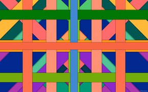 Picture color, strip, layers, crossing