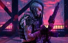 Picture Purple, Sci FI, Retrowave, Women Warrior