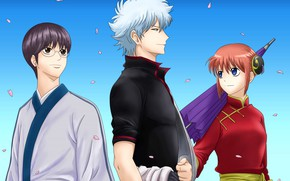 Picture background, Gintama, personage