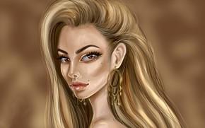 Picture look, girl, portrait